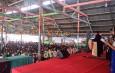 Moderamen GBKP Buka Creasi ( Camp Remaja Anak Sinabung) di Desa Surbakti