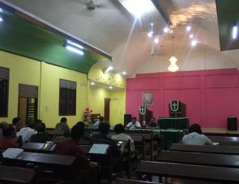 Moderamen GBKP Kunjungi Jemaat di GBKP Mabar, tanggapi serius kebisingan dan dampak dari PT.PHPO