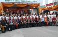 Sekum Moderamen GBKP Sampaikan Orasi Tentang Bhineka Tunggal Ika pada Apel Nusantara Bersatu di Kabupaten Karo