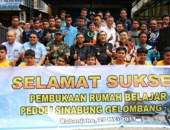 Bekerjasama dengan Komunitas Peduli Sinabung dan Yamaha Motor Indonesia, Moderamen GBKP Buka Pelatihan Mekanik  Motor gelombang enam Bagi Anak Seputar Sinabung.