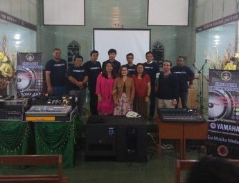 BPIMG GBKP adakan Seminar dan Klinik Sound System Gereja