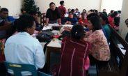 Sosialisasi P3 KAKR GBKP Majelis Klasis Kabanjahe-Tigapanah di GBKP Rg. Asrama Kodim