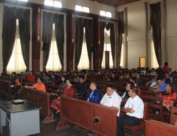 Penyakit masyarakat semakin menjamur, Komisi HIV-AIDS dan Napza GBKP adakan diskusi bahas pencegahannya.