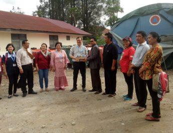 LWF AsiaKunjungi Korban Erupsi Sinabung